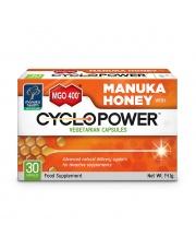 CycloPower  z Miodem Manuka MGO  400+ x 30 kaps.