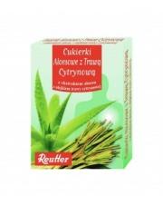 cukierki aloesowe z trawą cytrynową 50g.