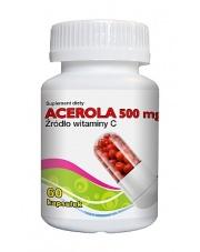ACEROLA 500 mg 60 kapsułek, Suplement diety