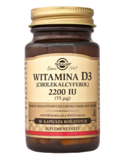 Witamina D3 2200 IU x 50 kaps.